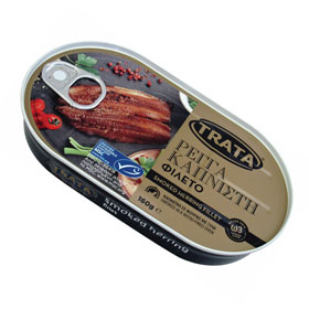 Trata Traditional Smoked Herring , 160g