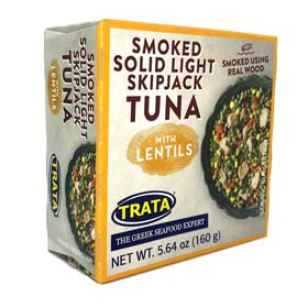 Trata Solid Light Skipjack Tuna with Lentils, 160g
