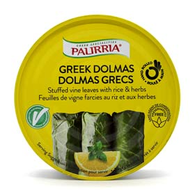 "Palirria ""Ready to Eat"" Greek Dolmas (Dolmades) stuffed with rice and herbs"