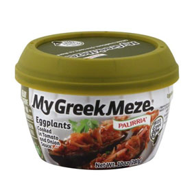 Palirria My Greek Meze Eggplant in Tomato Sauce, 10 Oz