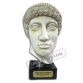 "Apollo - Marble Color Bust (8"") (Clearance 40% OFF)"