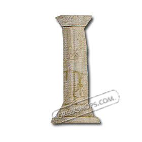 "Candle Stick Holder -  Ancient Greek Column (9"")"
