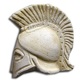 Ancient Greek Helmet Magnet