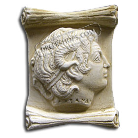 Ancient Greek Alexander Magnet