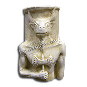 Ancient Greek Minotaur Magnet