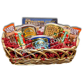 Greek Lenten Delights Gift Basket
