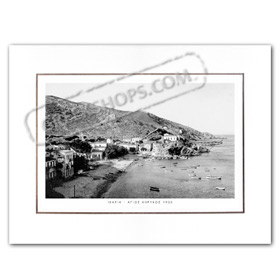 Vintage Greek City Photos Eastern Aegean Islands - Ikaria, Agios Kirikos (1920)