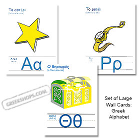 Alphabet Wall Cards / Flashcards