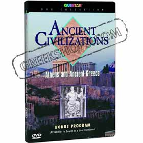 Ancient Civilizations Athens and Ancient Greece DVD (NTSC)