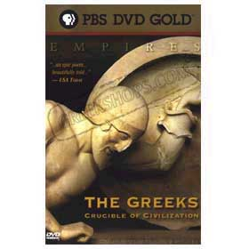 History - The Greeks Crucible of Civilization DVD (NTSC)