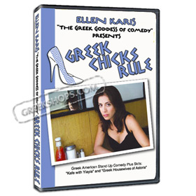 Ellen Karis The Greek Goddess of Comedy - Greek Chicks Rule