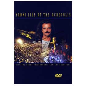 Yanni Live At The Acropolis DVD (NTSC)