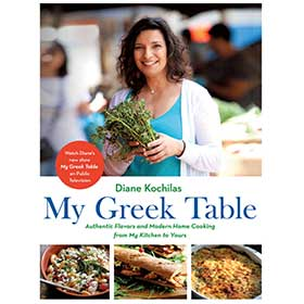My Greek Table, Authentic Flavors and Modern Home Cooking..., by Diane Kochilas