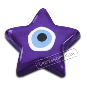 Evil Eye Star Paper Weight