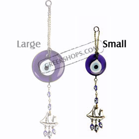Small Blue Evil Eye Decorative Charm 12111A