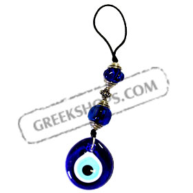 Gook Luck Charm Decorative Ornament - Large Mati Evil Eye 121658