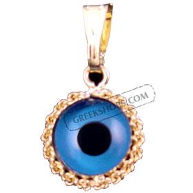 Greekshops greek products greek gold jewelry evil eye greekshops greek products greek gold jewelry evil eye pendant in 14k solid gold casing aloadofball Choice Image