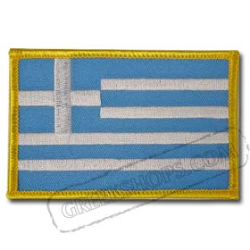 Greece Rectangle Patch