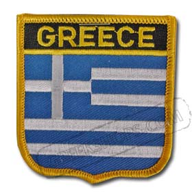 Greece Shield Patch