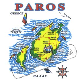 Greek Island Paros Sweatshirt 246
