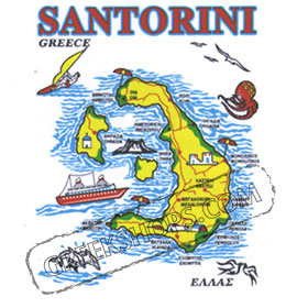 Greek Island Santorini Sweatshirt 327