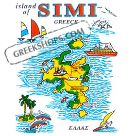 Greek Island Simi Sweatshirt D335A