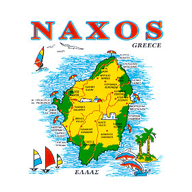 Greek Island Naxos Sweatshirt D335A