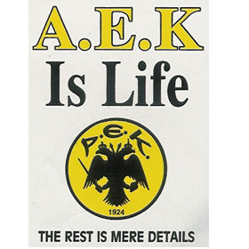 Greek Sports A.E.K. Sweatshirt 989