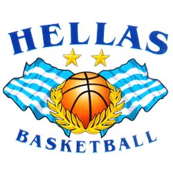 Hellas Basketball Hooded Sweatshirt Style D2232