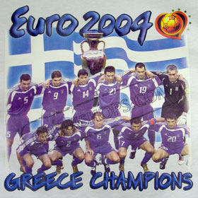 Euro 2004 Greek Team Sweatshirt