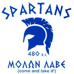 Spartans Tshirt Style D188