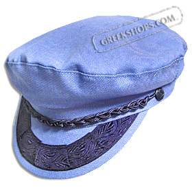 Denim Greek Fisherman's Hat