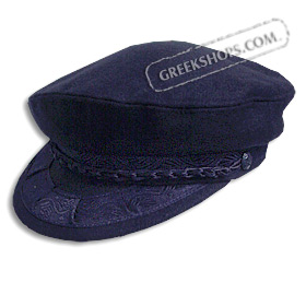 Greek Fisherman's Hat - Wool - Navy