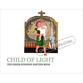 Child of Light : The Greek Orthodox Baptism Book, by Jamie Jameson, In English