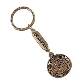 Ancient Greek Minotaur Shield Keychain