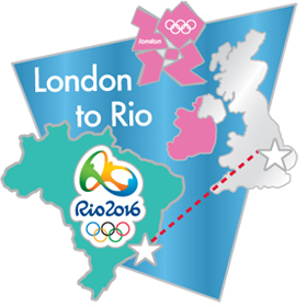 London 2012 – Rio 2016 Olympic Games Bridge Pin