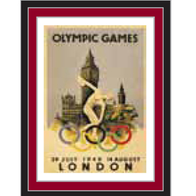 London 2012 Historical Poster Pins London 1948 Olympics Poster