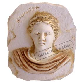 Ancient Greek Demetra Magnet