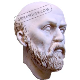 Ancient Greek Socrates Magnet