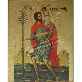 Magnet of St. Christopher