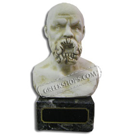 "Socrates Bust (6"") (Clearance 40% Off)"