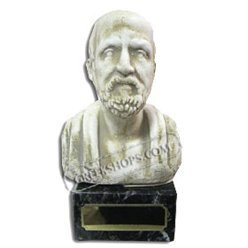 "Hippocrates Bust (6"") (Clearance 40% Off)"