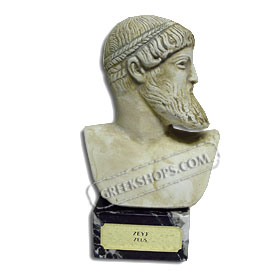 "Poseidon or Zeus Bust (6"") (Clearance 40% Off)"