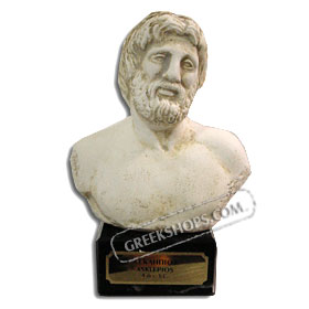 "Asclepius Bust (6"") (Clearance 40% Off)"