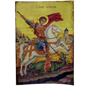 Poster of St. George