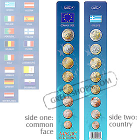National Face of the Euro Coins - Bookmark (2 sided)