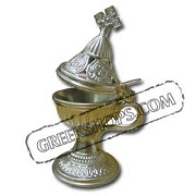 Small Silver Incense Burner