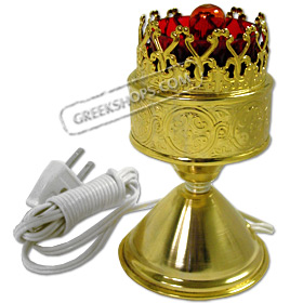 Standing Electric Religious Vigil Candili / Lamp