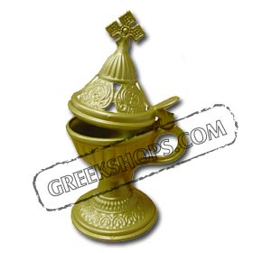 Gold Incense Burner