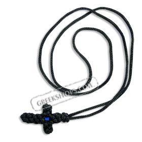 Greekshops greek products religious supplies komboskini komboskini greek cross necklace mozeypictures Choice Image